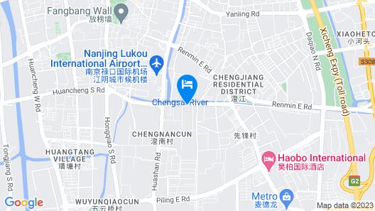 Jinjiang Inn Jiangyin Huancheng Road South Map