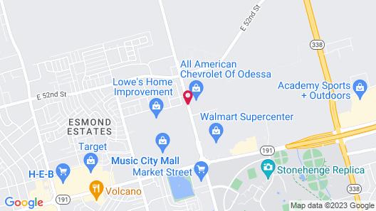 Hilton Garden Inn Odessa Map