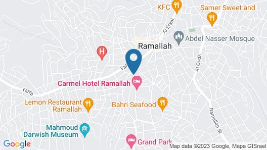 Lavender Boutique Hotel Map