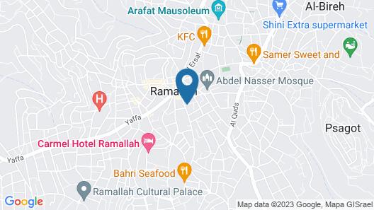 Hommus Hostel Map