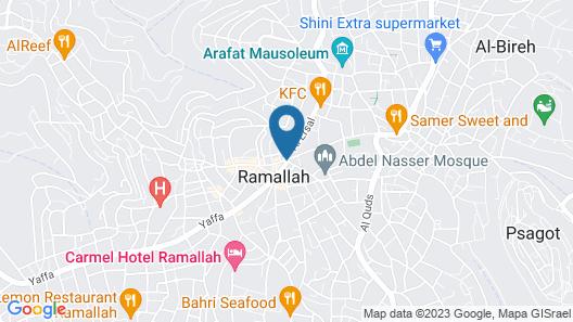 Aladdin Hotel Map