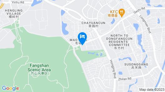 Mhub by MGM Nanjing Jiangning Map