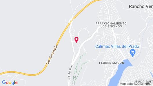 Villas Emilio Map