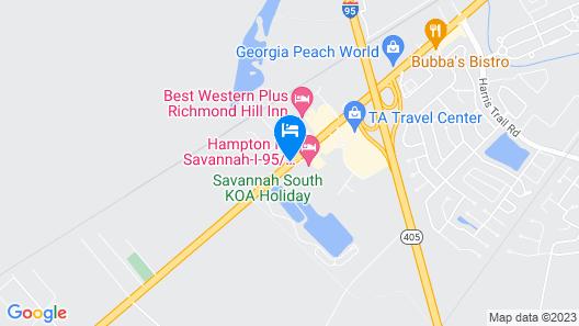 Home2 Suites by Hilton Richmond Hilll Savannah I-95 Map