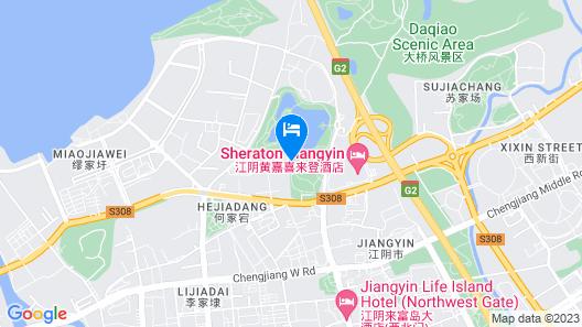 Sheraton Jiangyin Hotel Map