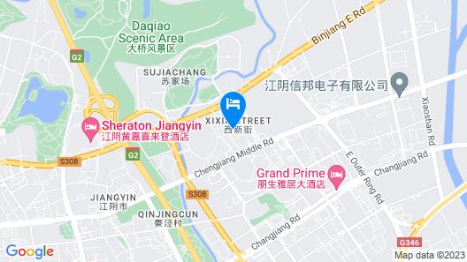 Courtyard by Marriott Jiangyin Map