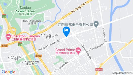 Ibis Hotel Jiangyin Map