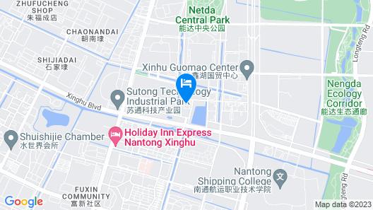 Hilton Garden Inn Nantong Xinghu Map