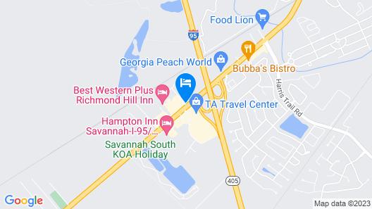 SpringHill Suites by Marriott Savannah Richmond Hill Map