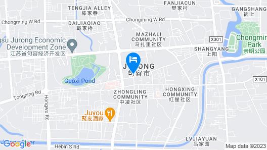 Holiday Inn Resort Maoshan Hot-Spring Map
