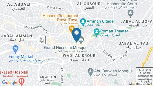 Jeddah Palace Hotel Map