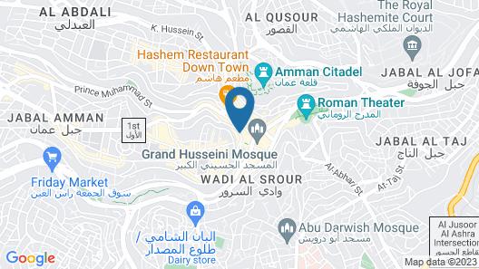 Torwadah Hotel Map