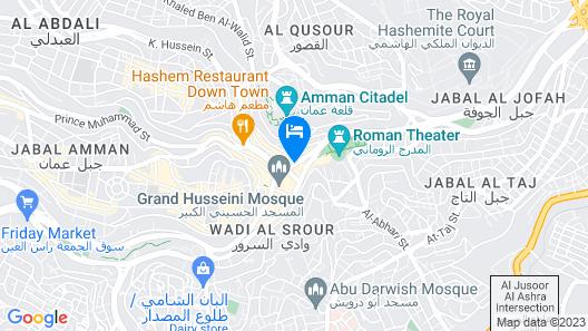 Al-Houriat Hotel Map