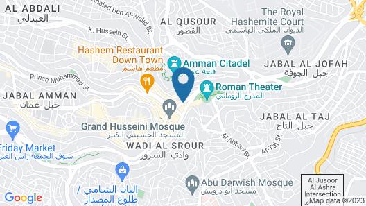 Arab Tower Hotel Map