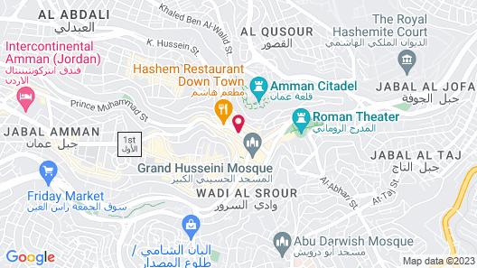 Hawa Amman Hotel Map