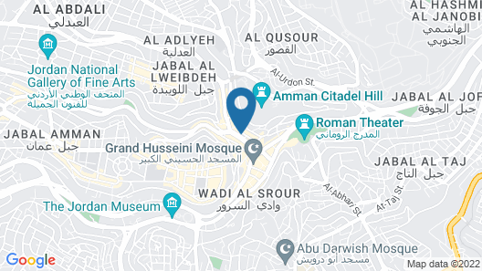 Hotel Name Samawer by Wynndham Amman Hotel Map