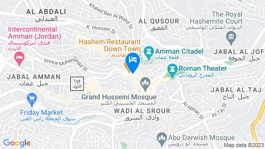 Art Hotel Downtown Map