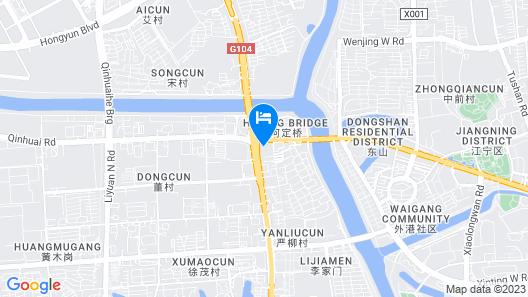 Courtyard by Marriott Nanjing Jiangning Map