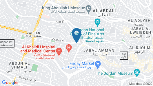 Le Royal Hotels & Resorts - Amman Map