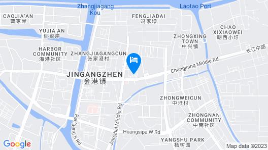 Zhangjiagang Jiangnan Garden Hotel Map