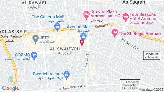 Amman Inn Map