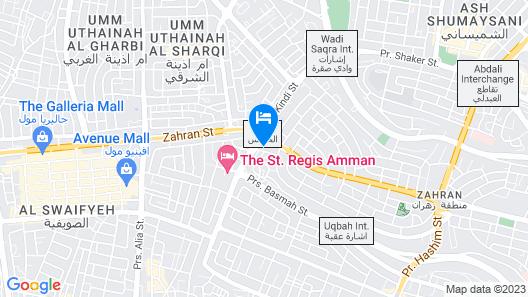 Fairmont Amman Map
