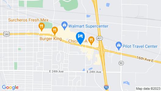 Quality Inn Cordele Map