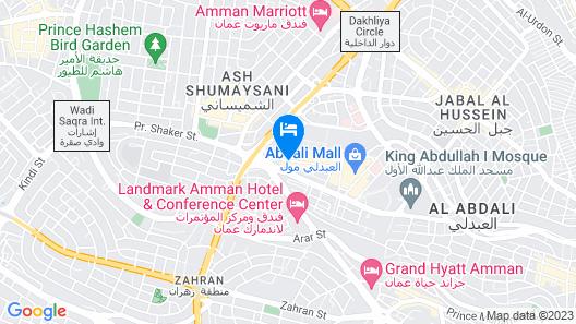 W Amman Map