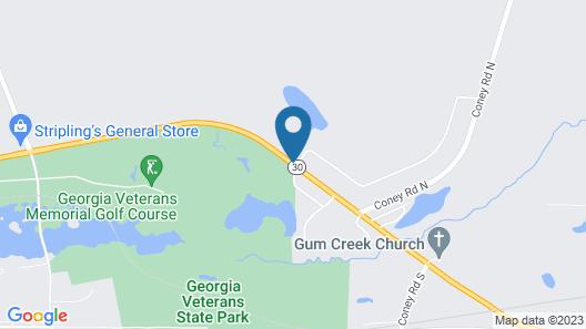 Lake Blackshear Resort & Golf Club Map