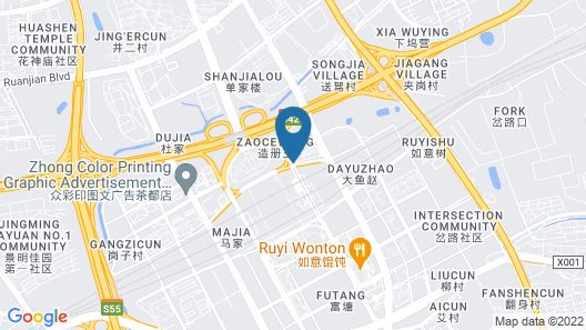ibis styles Nanjing South Railway Station North Square Hotel Map