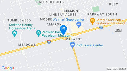 Comfort Inn Midland South I-20 Map