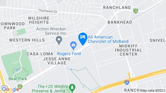 La Quinta Inn by Wyndham Midland Map