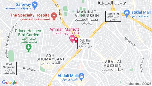 Amman Marriott Hotel Map