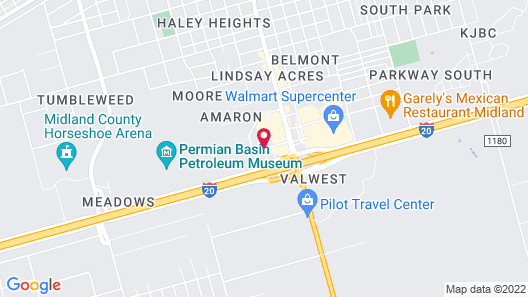 Holiday Inn Express & Suites Midland South I-20, an IHG Hotel Map