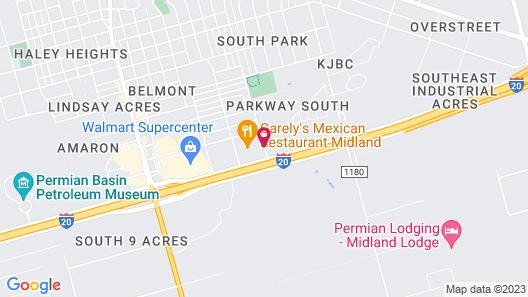 Best Western Plus Midland Suites Map