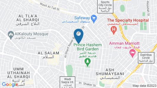 Blue Rose Hotel Map