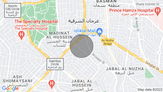 Roof top for Rent in Amman/ Jordan Map