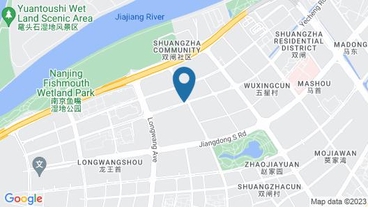 Jumeirah Nanjing Hotel Map