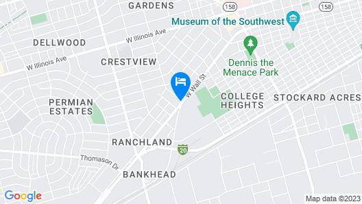 Wyndham Garden Midland Map