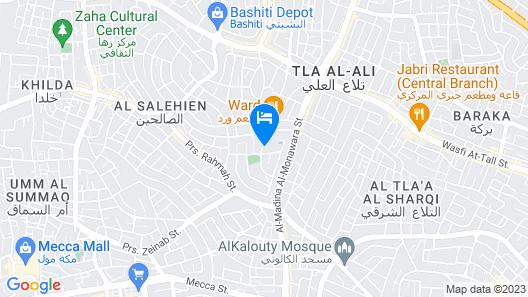 Movenpick Hotel Amman Map
