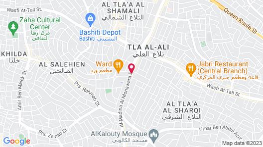 Sulaf Luxury Hotel Map