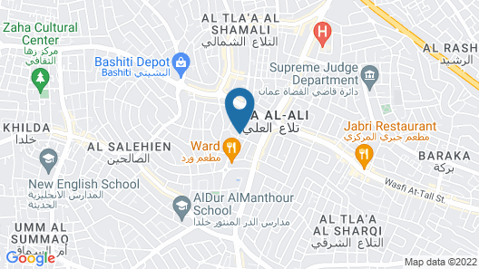 ibis Amman Map