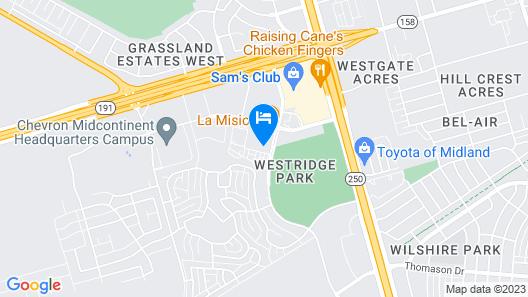 Tru By Hilton Midland Map