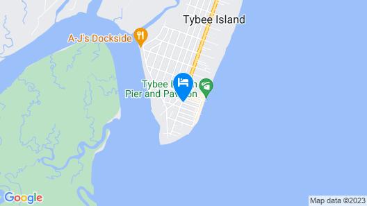 Atlantis Inn Map