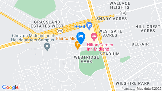 Candlewood Suites Midland South I 20, an IHG Hotel Map