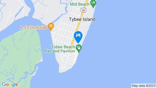 Hotel Tybee Map