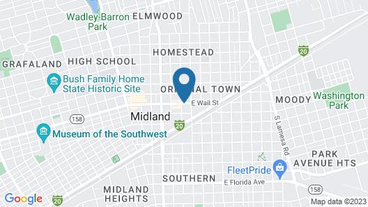DoubleTree by Hilton Hotel Midland Plaza Map
