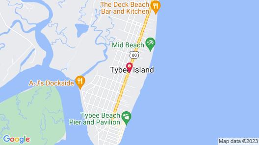 Sea And Breeze Hotel And Condo Map