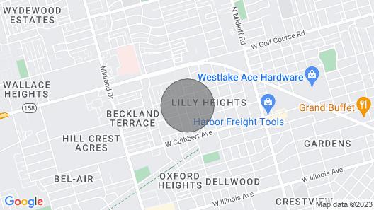 Modern Masterpiece at Godfrey Map