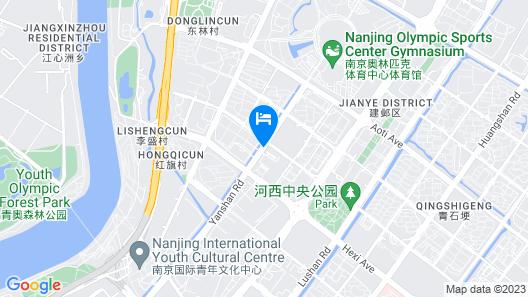Fairmont Nanjing Map